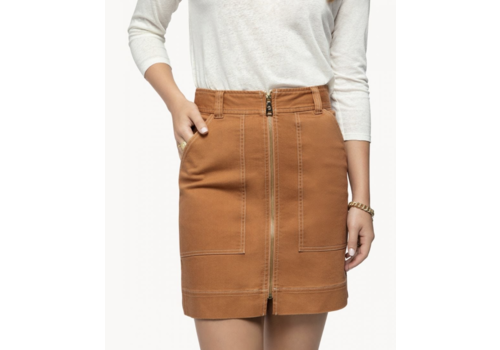 Spartina Ashton Denim Skirt in Sienna