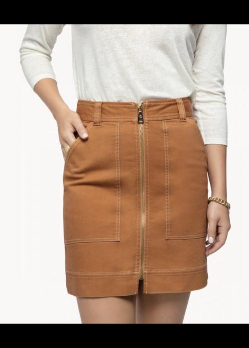 Spartina Ashton Denim Skirt in Sienna