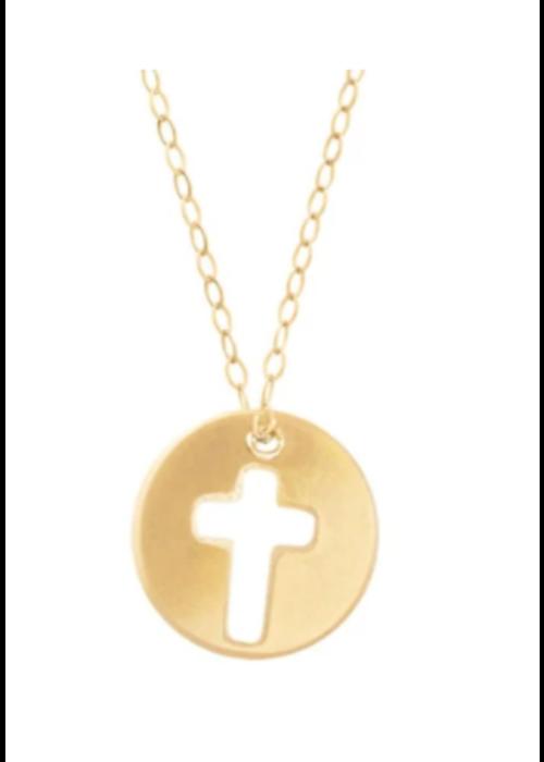E Newton EG Blessed Necklace Gold