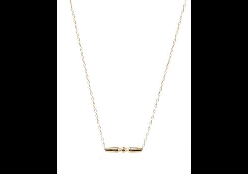 "EN 16"" Necklace Gold - Angelic"