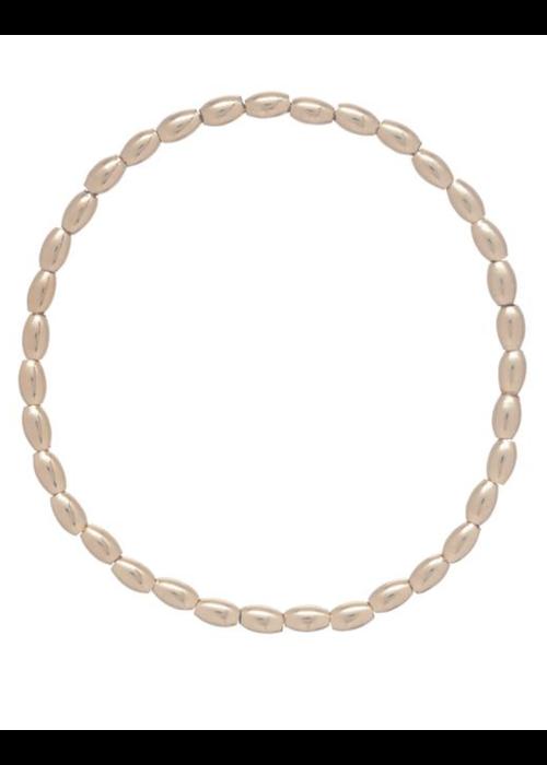 E Newton EN Harmony Small Gold Bead Bracelet