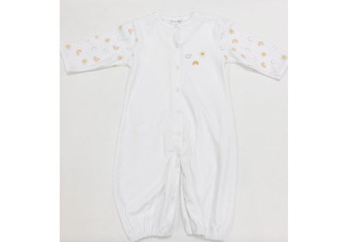 Lyda Baby LB Converter Gown - Perfect Summer Prt/Emb White