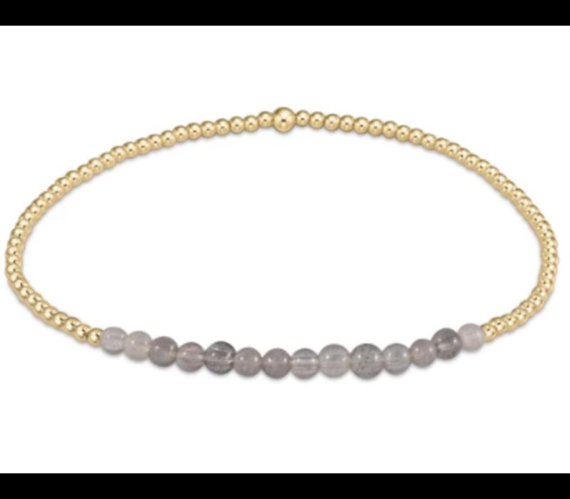 EN Labradorite 3mm Bracelet
