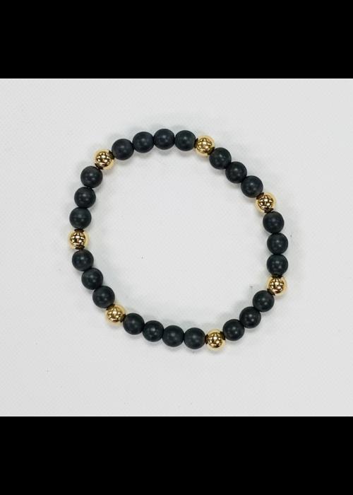 E Newton EN Hematite Sincerity 6mm Bead Bracelet