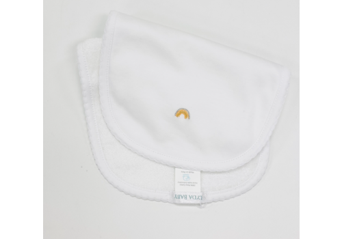 Lyda Baby LB Burpie - Perfect Summer Emb White