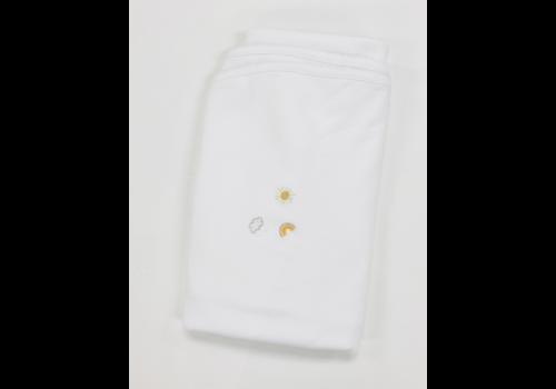 Lyda Baby LB Blanket - Perfect Summer Emb White