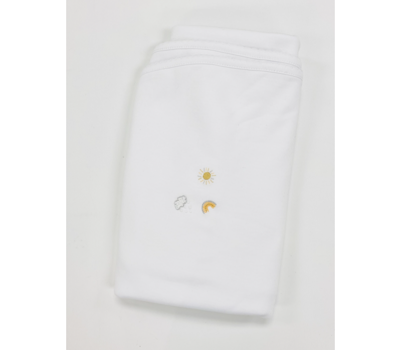 LB Blanket - Perfect Summer Emb White