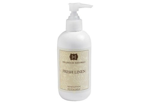 Hillhouse Naturals HHN Fresh Linen Hand Lotion 8.25 oz