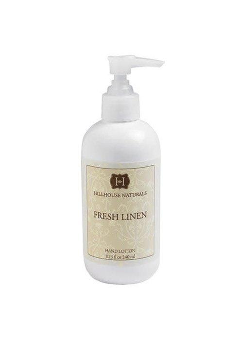 Hillhouse Naturals HHN Fresh Linen Hand Lotion 8.25 oz
