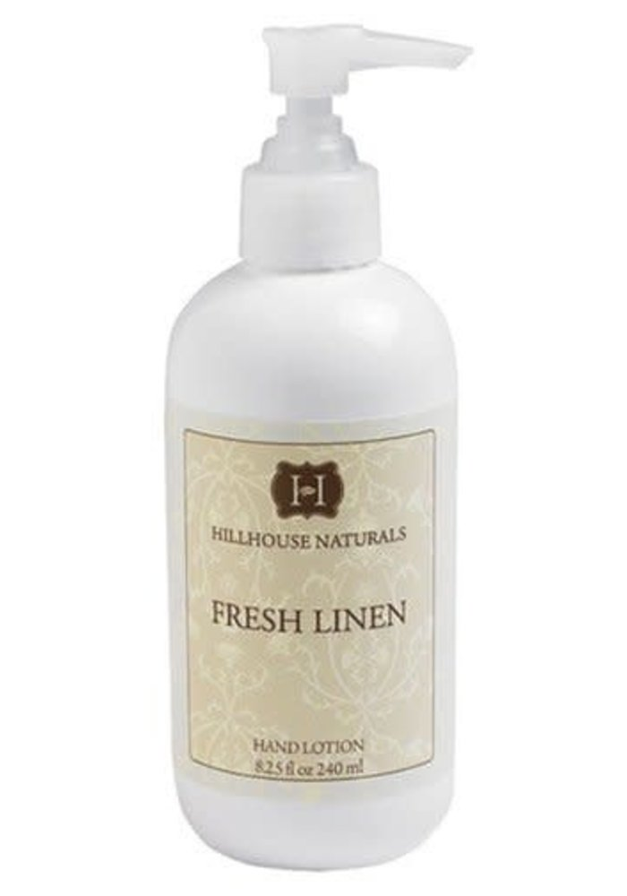 HHN Fresh Linen Hand Lotion 8.25 oz