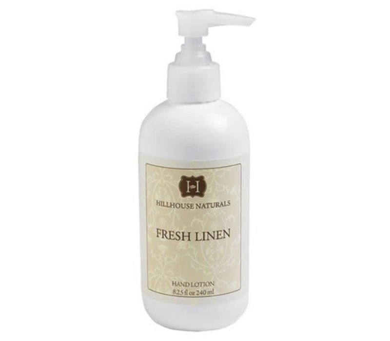 HHN Fresh Linen Hand Lotion 8.25 oz