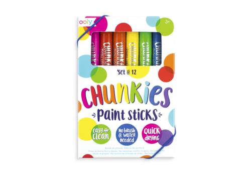 ooly ooly Chunkies Paint Sticks set of 12