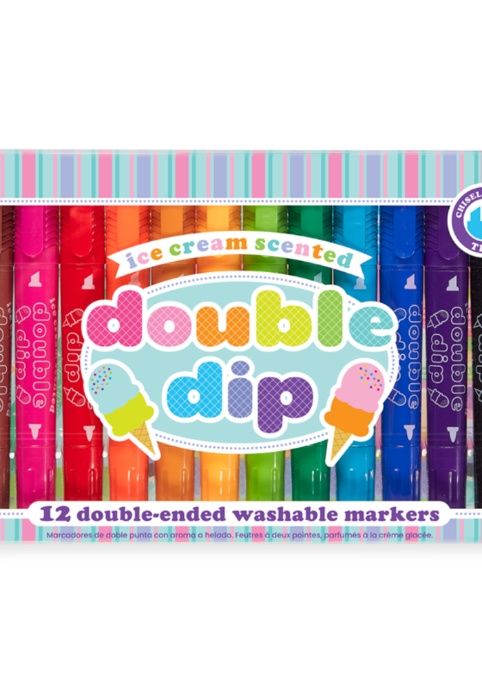 Ooly Double Dip Double-Ended Scented Markers (set of 12)