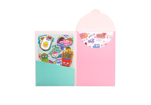 ooly Ooly Sticker Stash - Quirky Fun