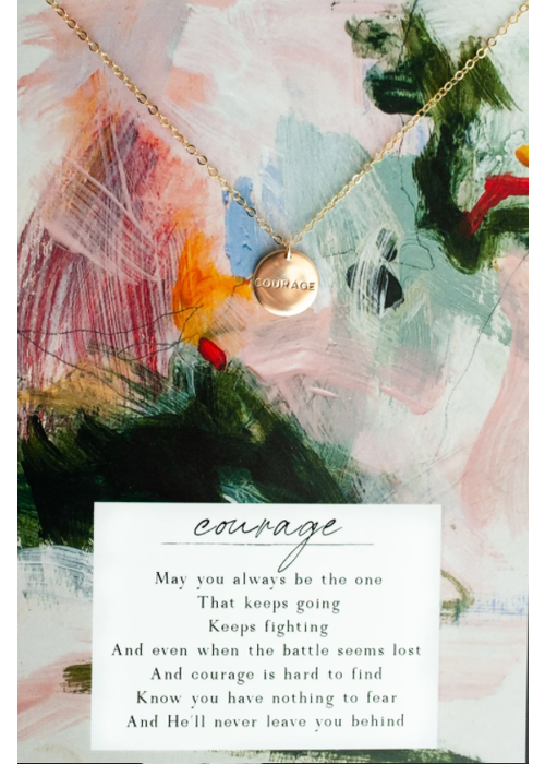 Dear Heart Designs DHD Courage Necklace