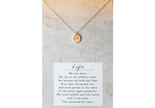 Dear Heart Designs DHD Hope Necklace