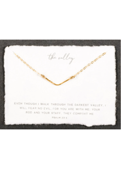Dear Heart Designs DHD The Mini Valley necklace - sterling silver