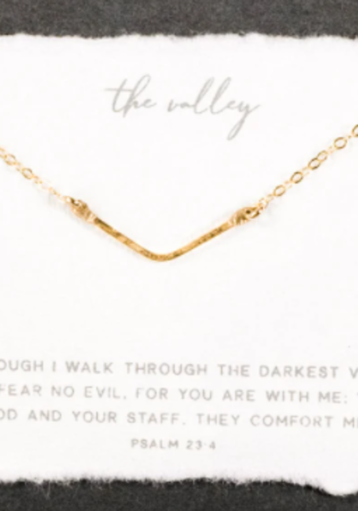 DHD The Mini Valley necklace - sterling silver