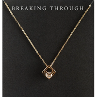 DearHeart Designs Breaking Through Necklace