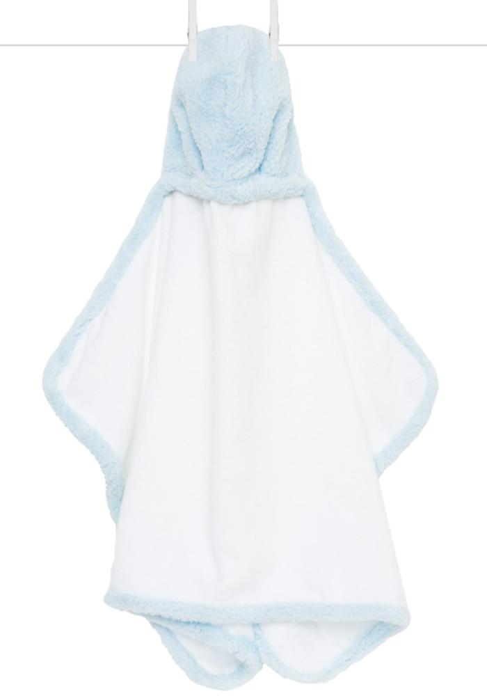 Little Giraffe Blue Chenille Towel
