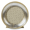 "CP Frame Round Silver Leaf 3"""