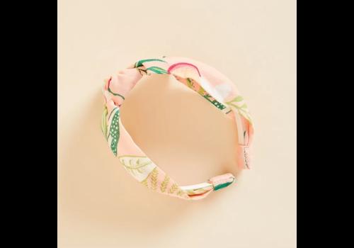 Spartina Knot Headband Pink Lemonade