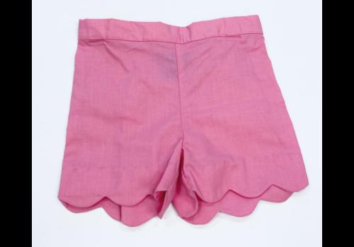 Anavini Anavini Girls Shorts Bubblegum Pink Twill