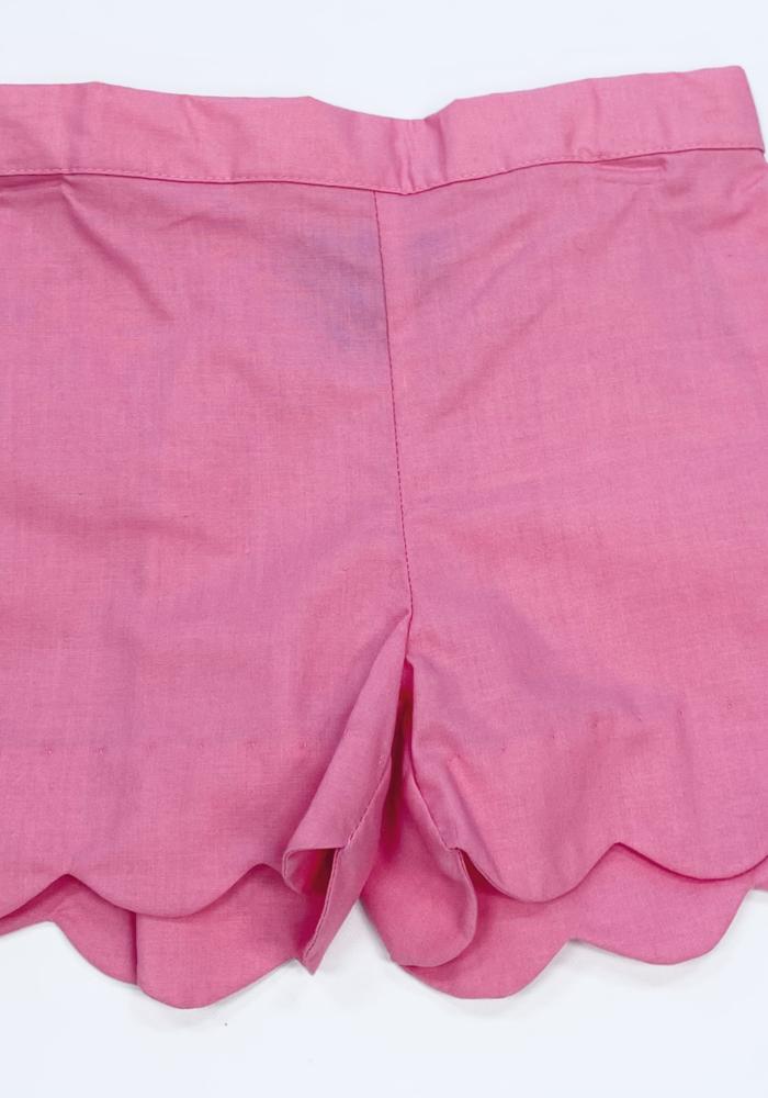 Anavini Girls Shorts Bubblegum Pink Twill