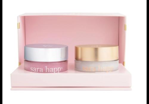 Sara Happ SH Pink Peppermint Lip Trip Treatment Duo