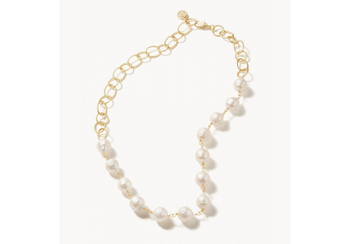 """Spartina Ann Pearl Necklace 19"""" Pearl"""