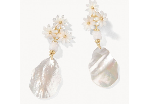 Spartina Garden Party Earrings Pearlescent