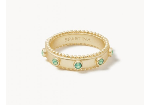 Spartina Atlantic Opal Band Ring 6