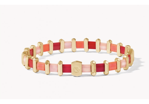 Spartina Tila Stretch Bracelet Red