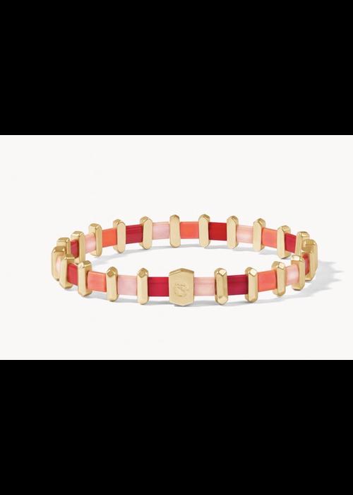Spartina Tila Stretch Bracelet Red