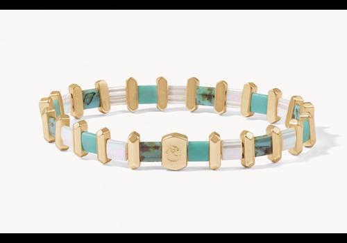 Spartina Tila Stretch Bracelet Turquoise