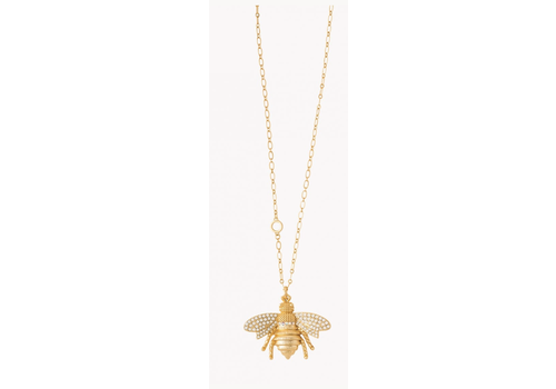 Spartina Bee Toggle Necklace 34""