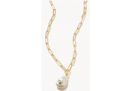 "Spartina Lowcountry Pearl Necklace 19"" Atlantic Opal"