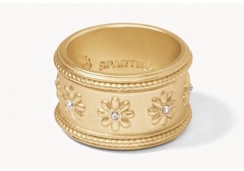 Spartina Flower Frieze Ring
