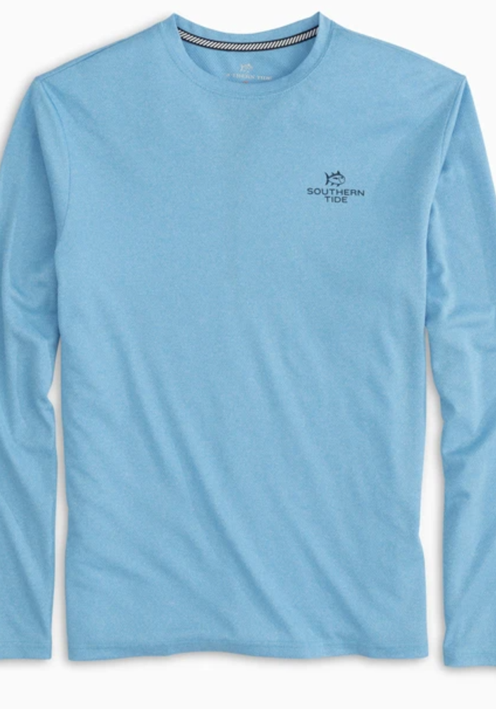 Boys Youth Paddleboard Stack Performance Tee in Boat Blue