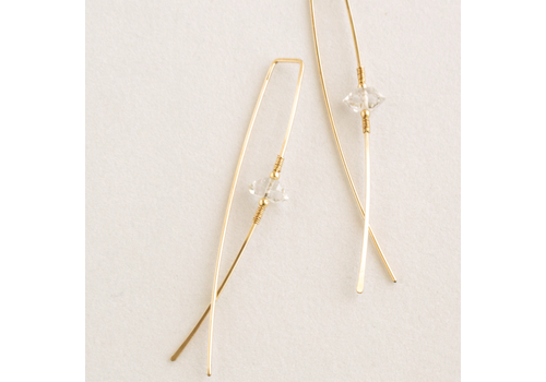Summer Bucket SB Lyra Earrings - 14kt Gold Fill
