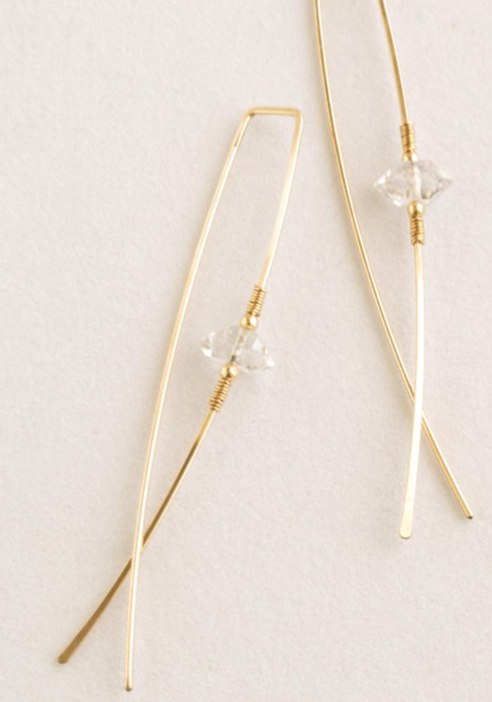 SB Lyra Earrings - 14kt Gold Fill