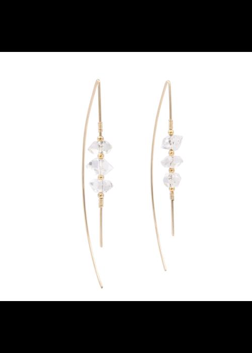 SB Celeste Threaders Earrings - 14kt Gold Fill
