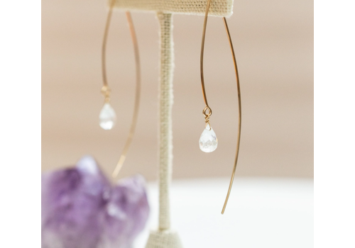 Summer Bucket SB Sarai Crescent Earrings - 14kt Gold Fill