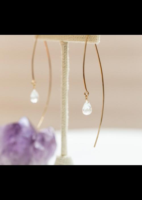 SB Sarai Crescent Earrings - 14kt Gold Fill
