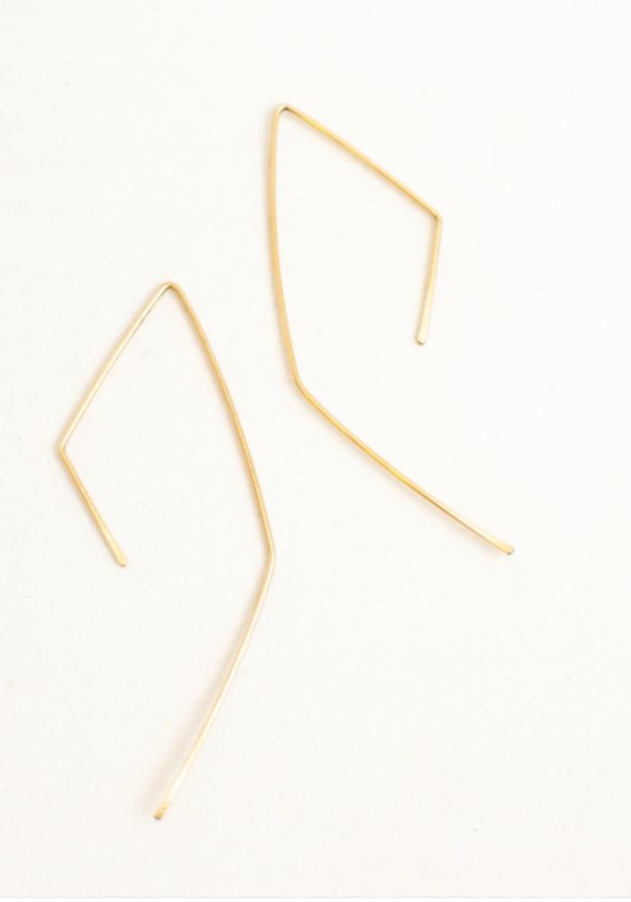 SB Geo Threaders Earrings - 14kt Gold Fill