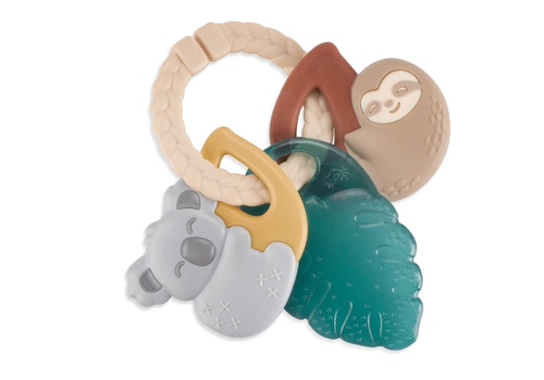 Itzy Ritzy Tropical Keys - Ring w/Teether Rattle