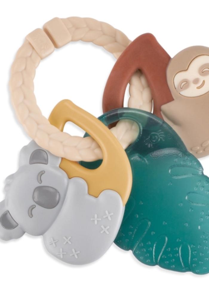Itzy Ritzy Tropical Keys - Ring w/Teether Rattle