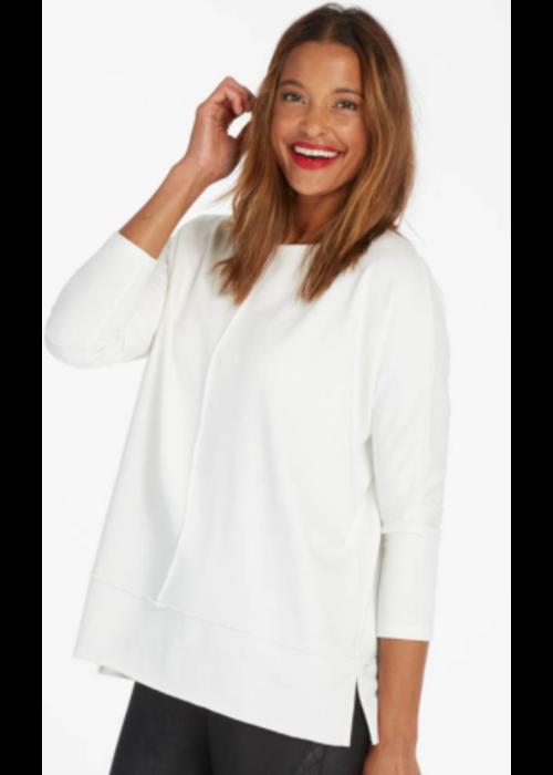 Spanx SPX Perfect Length Top Dolman Sweatshirt in Powder