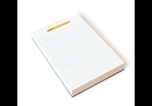 Pencil Note Pad