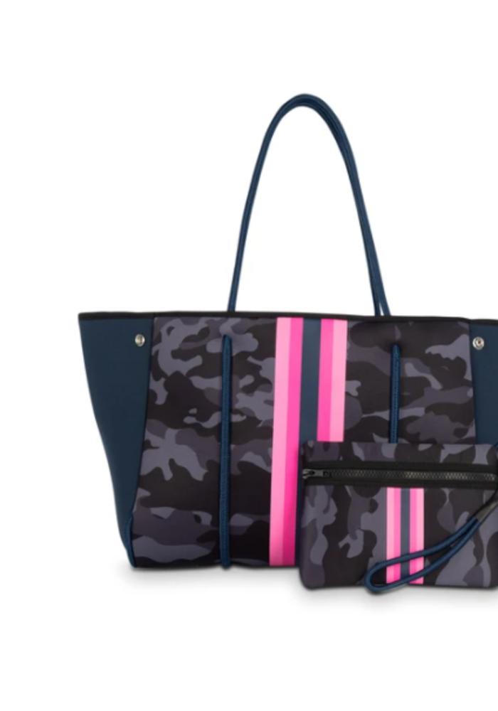 HS Greyson Epic - Navy camo w/Pink & navy stripe
